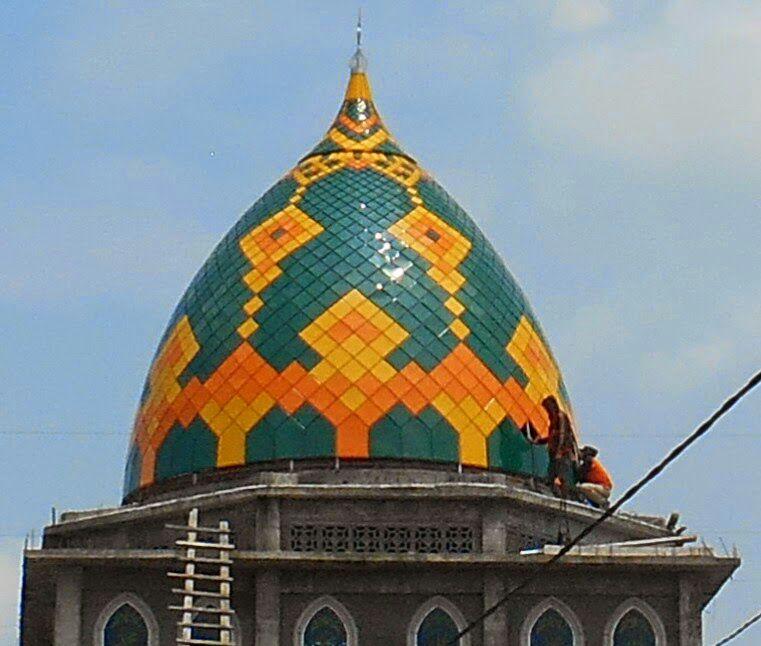 pembuat kubah masjid di yogyakarta