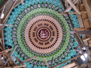 pembuatan kubah masjid